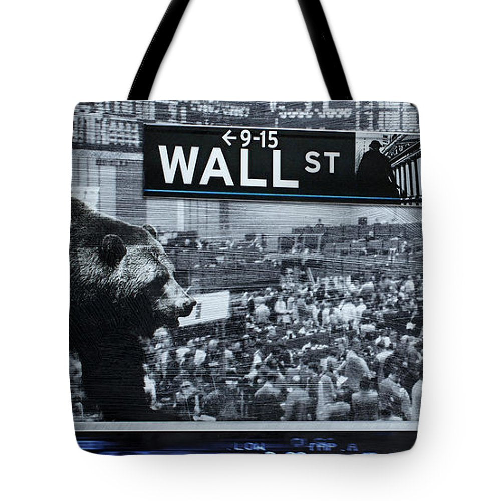 Wall Street - Tote Bag - SEVENART STUDIO