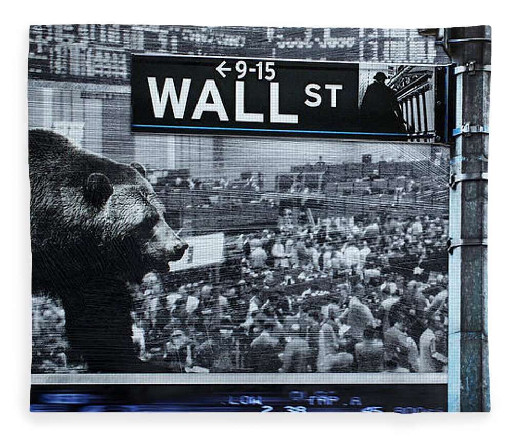 Wall Street - Blanket - sevenart-studio