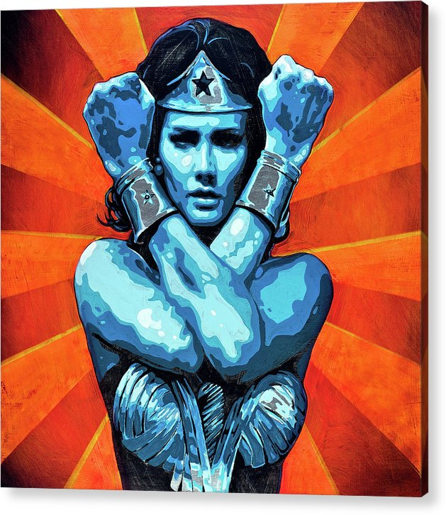 Wonder Woman I - Acrylic Print - sevenart-studio