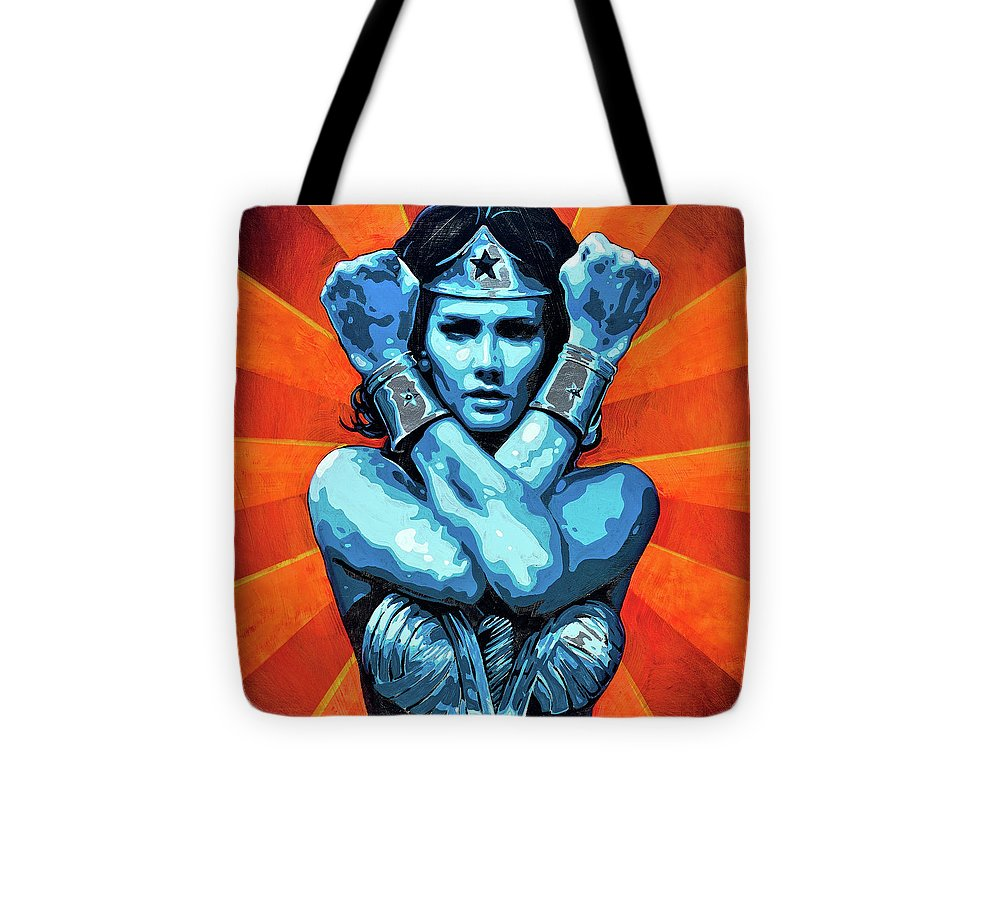 Wonder Woman I - Tote Bag - SEVENART STUDIO