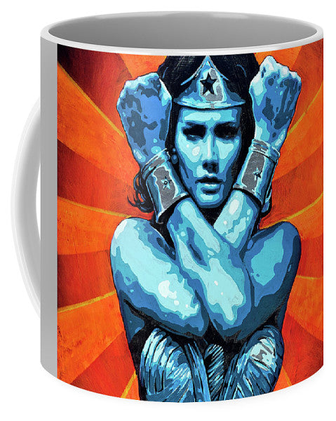 Wonder Woman I - Mug - SEVENART STUDIO
