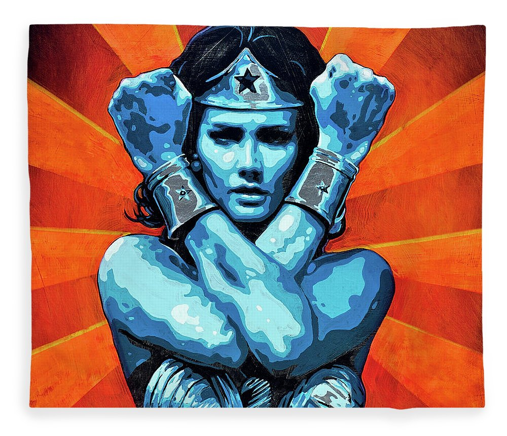 Wonder Woman I - Blanket - SEVENART STUDIO