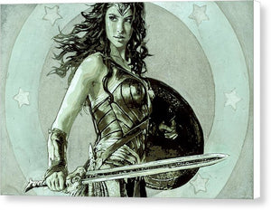 Wonder Woman - Canvas Print - SEVENART STUDIO