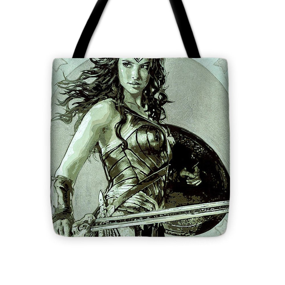 Wonder Woman - Tote Bag - SEVENART STUDIO