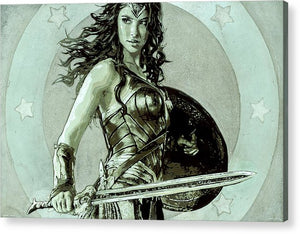 Wonder Woman - Acrylic Print - SEVENART STUDIO