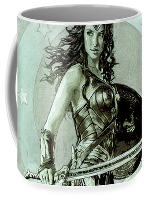 Wonder Woman - Mug - SEVENART STUDIO