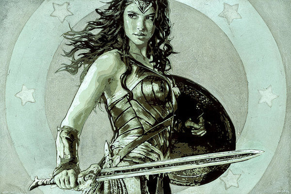 Wonder Woman - Art Print - SEVENART STUDIO