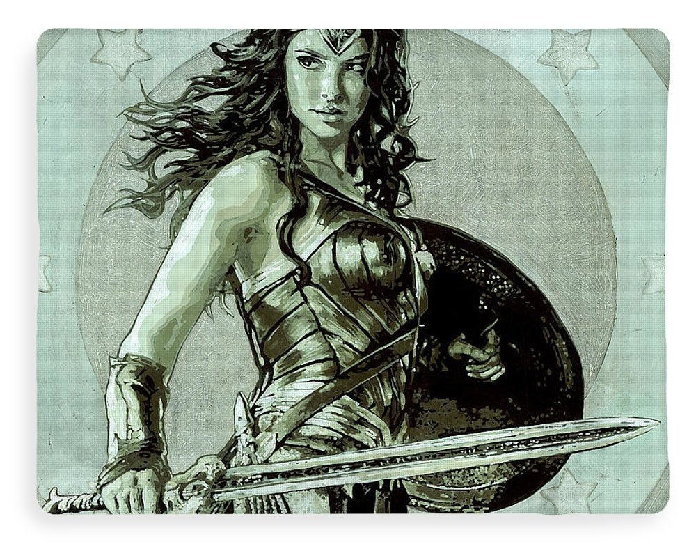 Wonder Woman - Blanket - SEVENART STUDIO