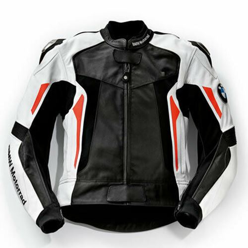BMW GENUINE MOTORRAD SPORT LEATHER JACKET SIZE 54