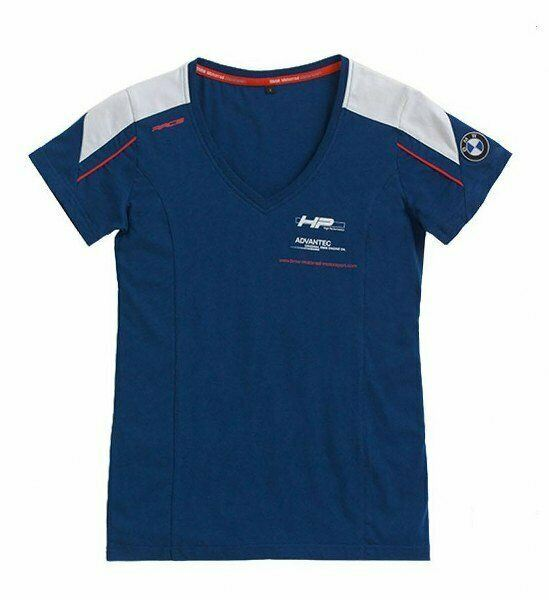 BMW GENUINE MOTORRAD 2019 LADIES MOTORSPORT T-SHIRT SIZE XS