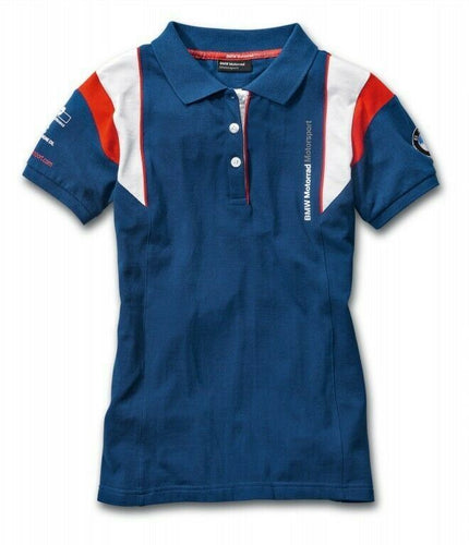 BMW GENUINE MOTORRAD LADIES MOTORSPORT POLO SHIRT SIZE XL
