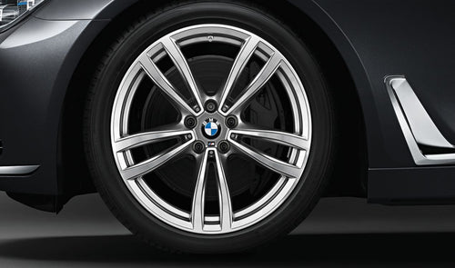 bmw winter wheel and tyre m double spoke 647 light alloy