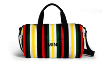 Load image into Gallery viewer, MINI Genuine Striped Duffle Bag