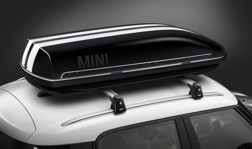 MINI Genuine Roof Box with Roof Bars & Sport Aerial