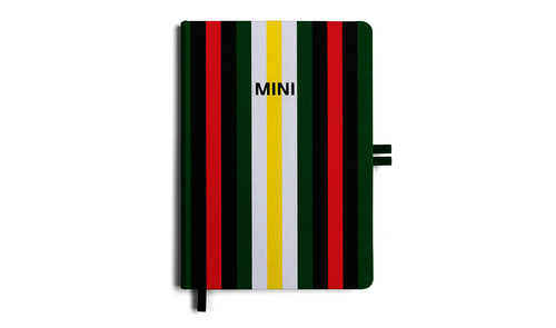 MINI GENUINE STRIPED NOTEBOOK