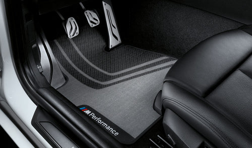 BMW GENUINE M PERFORMANCE FRONT FLOOR MATS