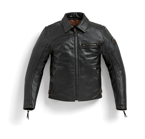 bmw motorrad heritage pureboxer leather jacket