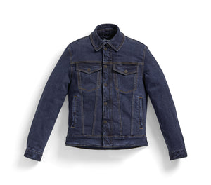 bmw motorrad roadcrafted denim jacket blue mens