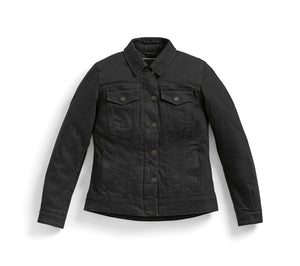 bmw motorrad roadcrafted denim jacket black ladies