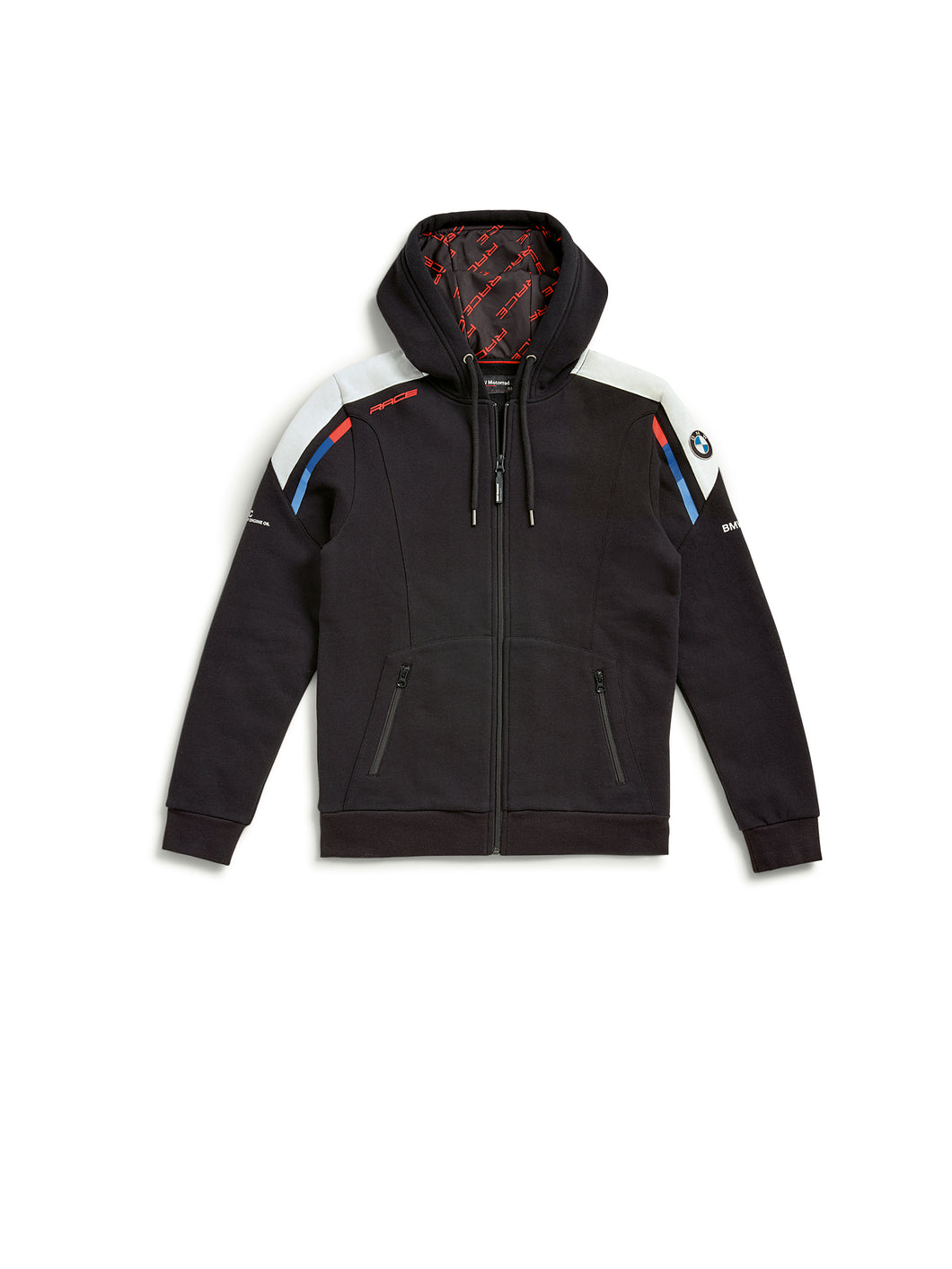 bmw motorrad motorsport hooded jacket black
