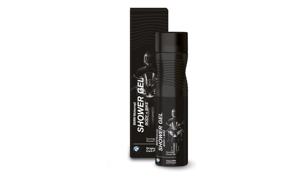 bmw motorcycle body and bike shower gel