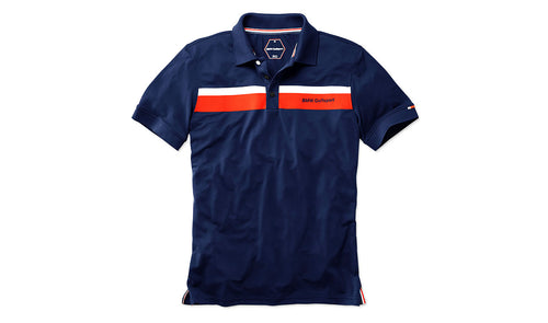 bmw golfsport mens short sleeve front