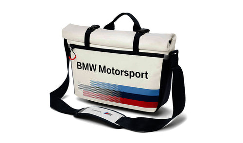 bmw motorsport messenger bag