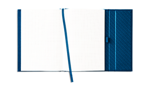 MINI GENUINE CLOTH-BOUND NOTEBOOK (BLUE)