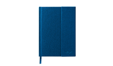 Load image into Gallery viewer, MINI GENUINE CLOTH-BOUND NOTEBOOK (BLUE)