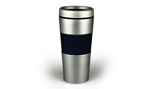 bmw logo thermal mug flask