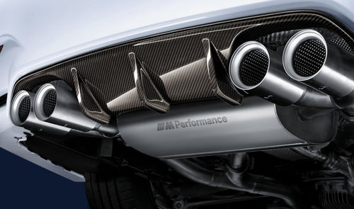 BMW M PERFORMANCE TITANIUM EXHAUST TIPS