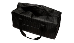 bmw travel bag - black with shoulder strap