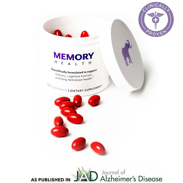 Memory Health. Clinically Proven as published in Journal of Alzheimer's Disease