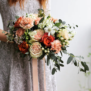 Bridal bouquet (regular) - Kesed creates
