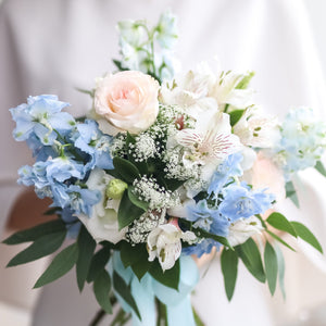 Bridal bouquet (intermediate), Weddings - Kesed creates