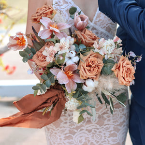 Bridal bouquet (premium) - Kesed creates