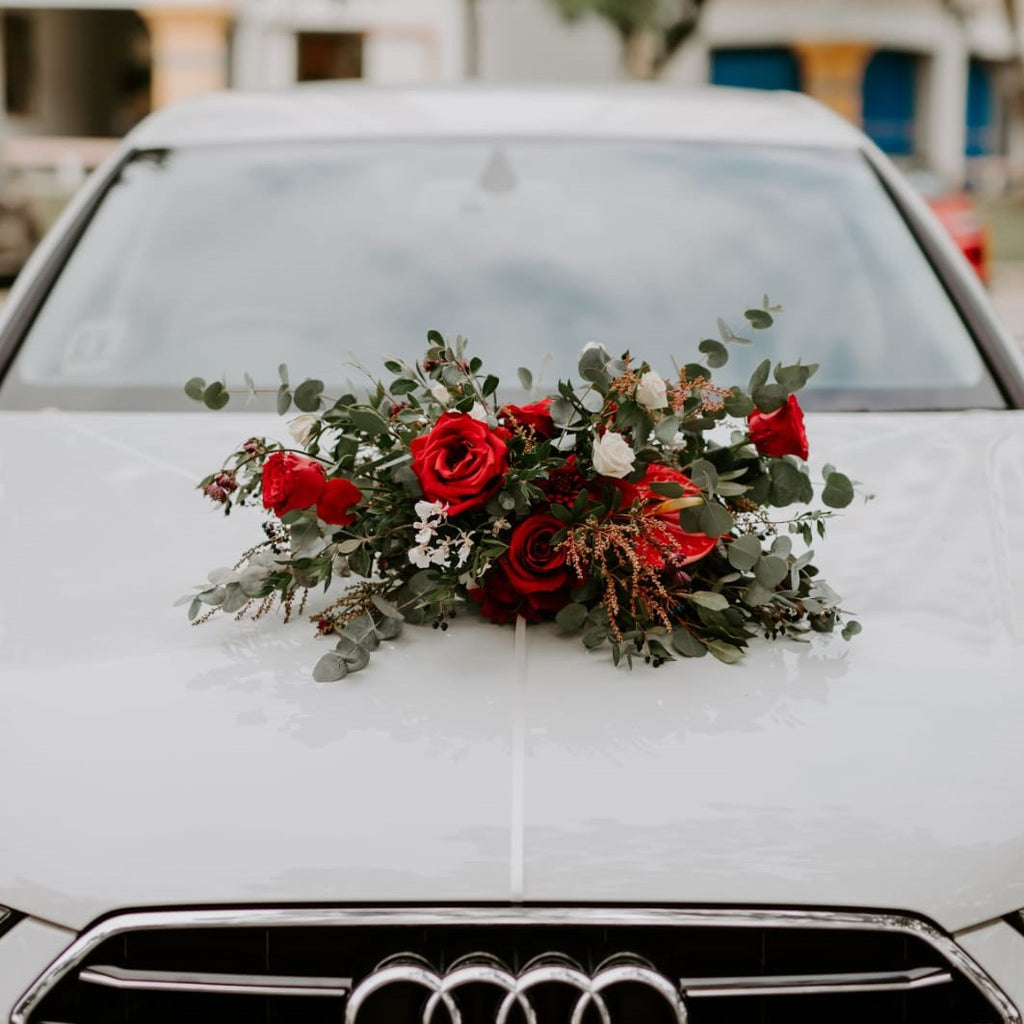 Bridal car deco, Weddings - Kesed creates