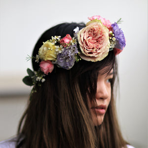 Floral crown, Weddings - Kesed creates