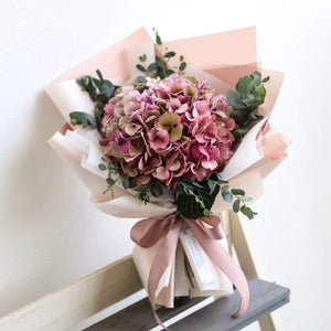 Hydrangea (single-stalk), Bouquet - Kesed creates