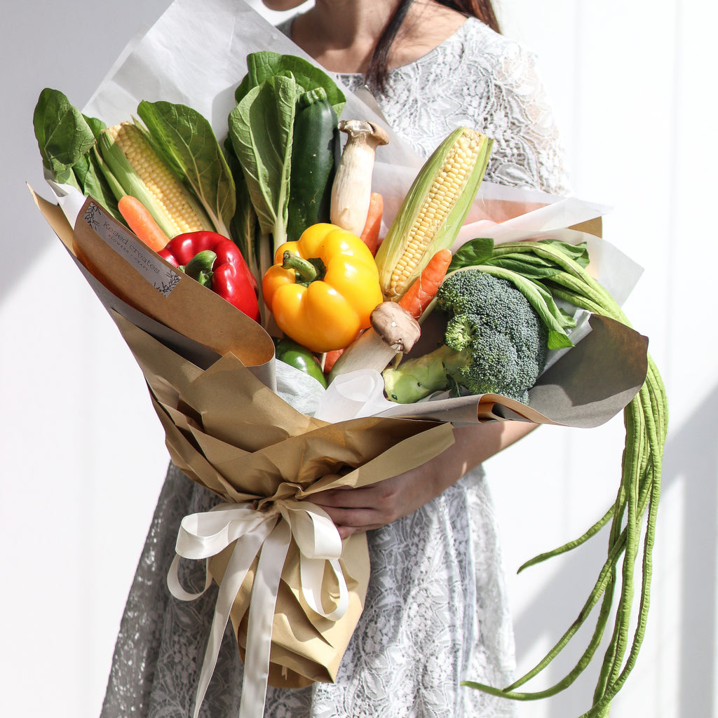 Veggie bouquet, Bouquet - Kesed creates