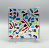 Glass Fusing Creative Kids Workshop | Confetti Plate | Arc and Flame Center