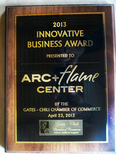 Gates-Chili Chamber of Commerce Honors Arc + Flame
