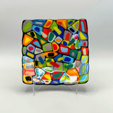 Glass Fusing Sampler | Stacked Mosaic | Arc and Flame Center