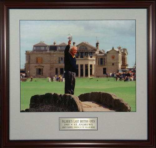 Arnold Palmer Farewell to St Andrews
