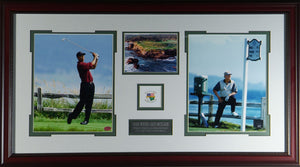 Jack Nicklaus and Tiger Woods Pebble Beach