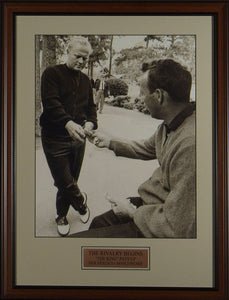 "Jack Nicklaus and Arnold Palmer ""The Lost Bet"""