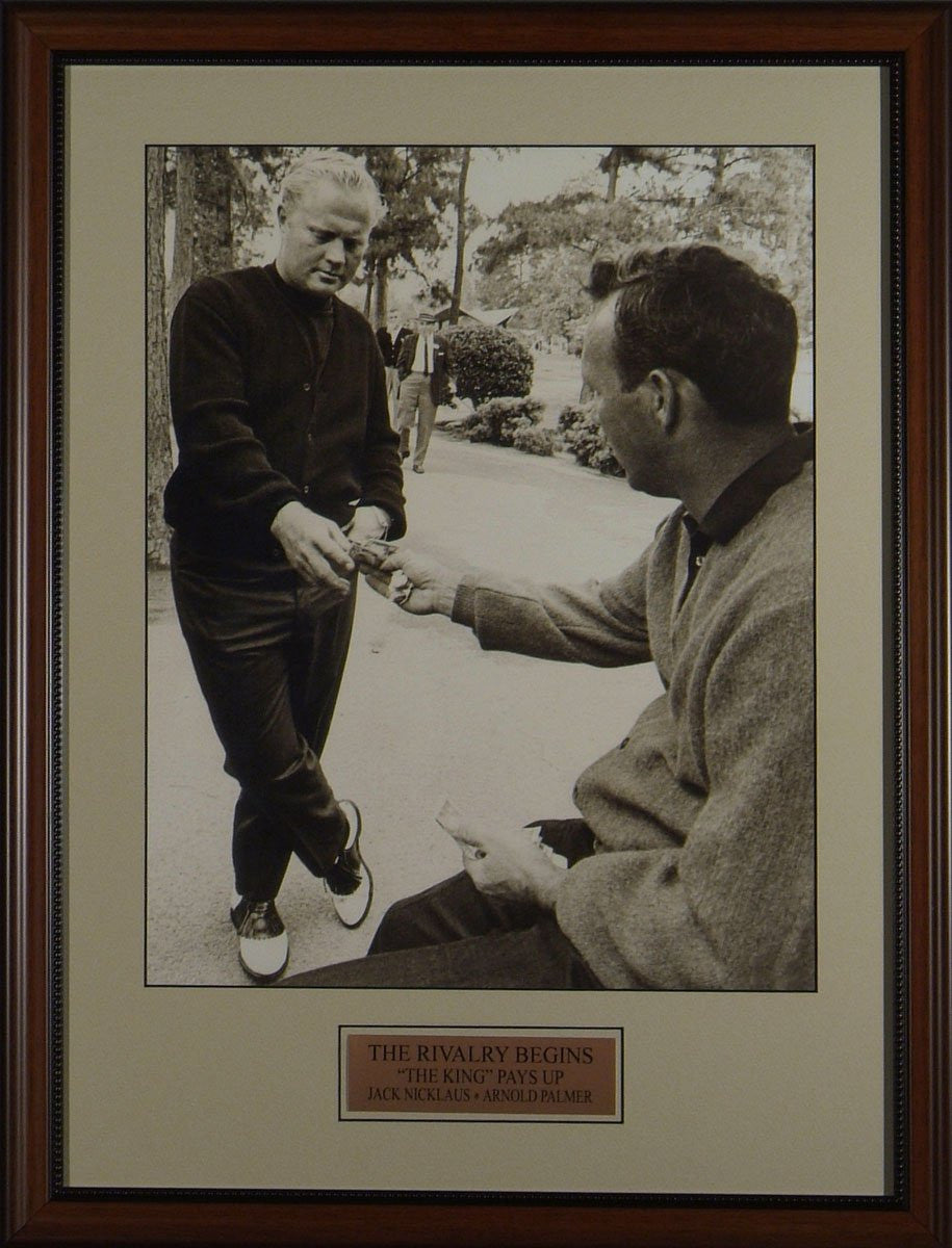 "Jack Nicklaus and Arnold Palmer ""The Lost Bet"