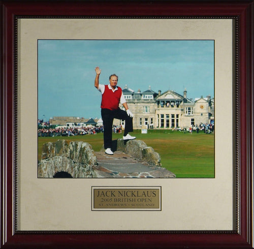 Jack Nicklaus Farewell to St. Andrews