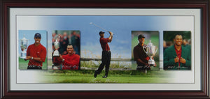 Tiger Woods Panoramic Strip