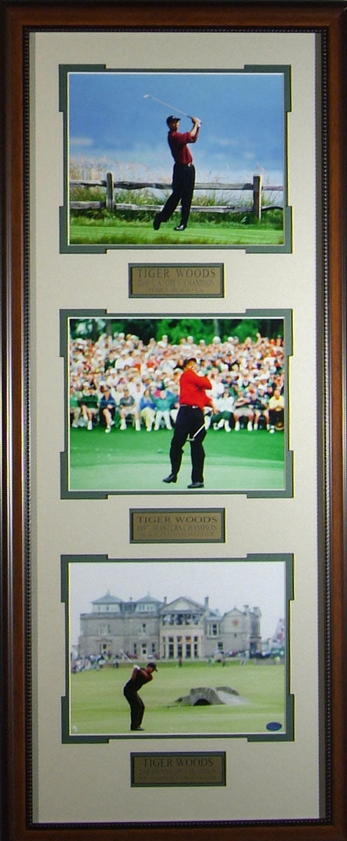 Tiger Woods Three Photo Collage